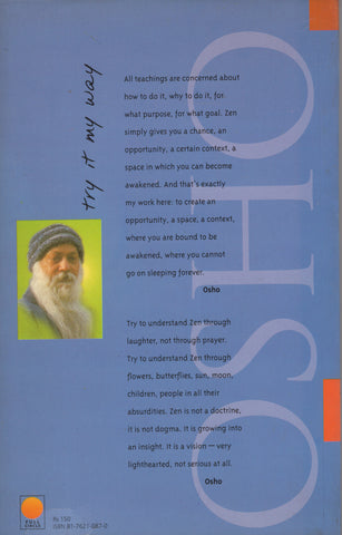 Try it My Way by Osho Bhagwan Shree Rajneesh Paperback
