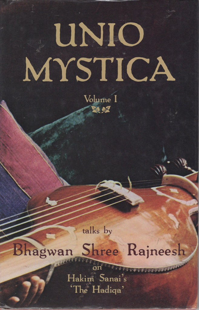Unio Mystica, Vol 1 by Osho Bhagwan Shree Rajneesh 1st Edition Rare