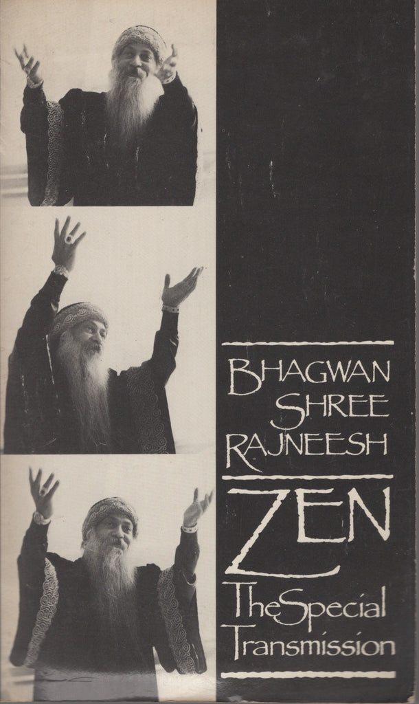 Zen: The Special Transmission by Osho Bhagwan Shree Rajneesh 1st Edition