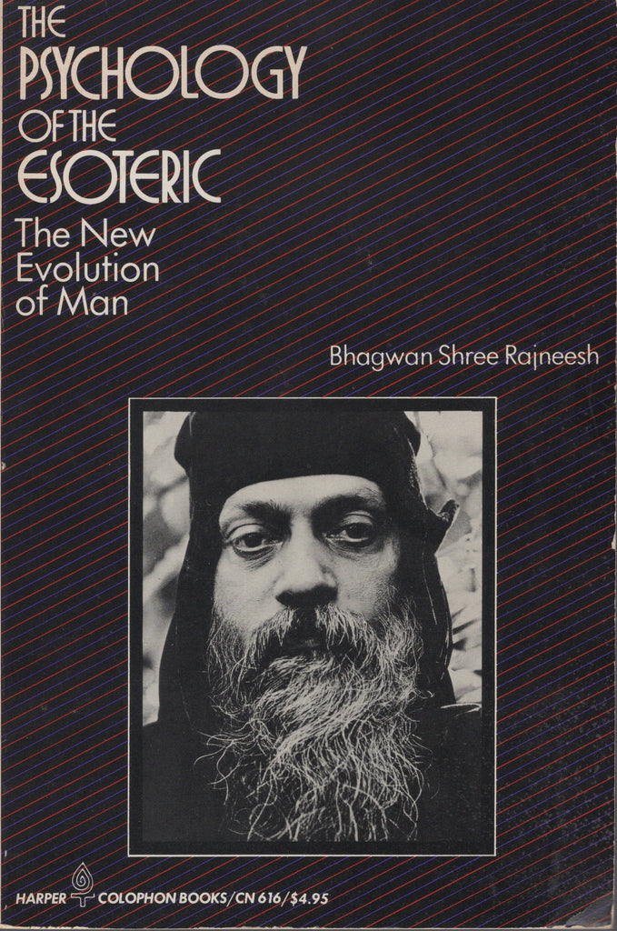 Rare The Psychology of the Esoteric by Osho Bhagwan Shree Rajneesh 1st Ed. U. S.