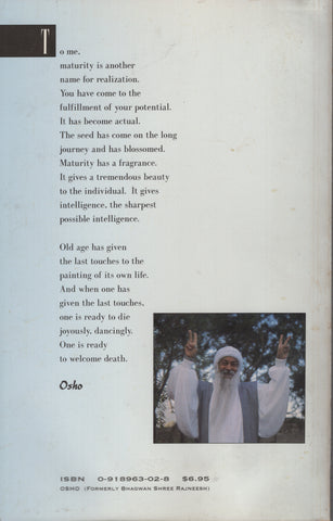 After Middle Age: A Limitless Sky by Osho Bhagwan Rajneesh