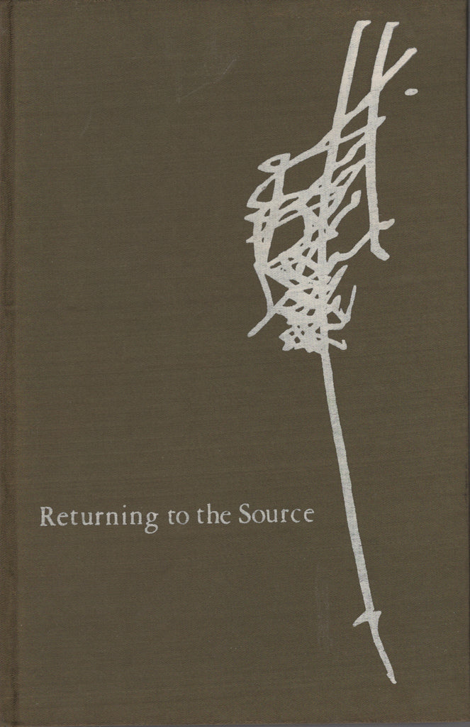 Returning to the Source by Osho Bhagwan Shree Rajneesh 1st Edition