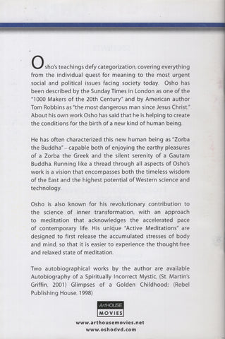 Osho Collection Vol. 8: The Fear of Intimacy by Osho Bhagwan Shree Rajneesh