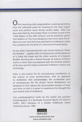 The Osho Collection Vol. 2: Bringing Up Children by Osho Bhagwan Shree