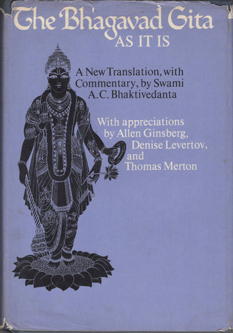 Very Rare Vintage Bhagavad Gita As It Is Macmillan First Edition 1968