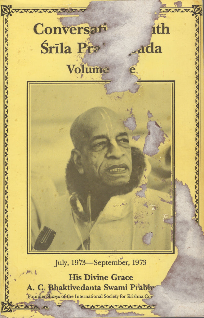 Conversations with Srila Prabhupada Volume 5 July 1973 - September 1973