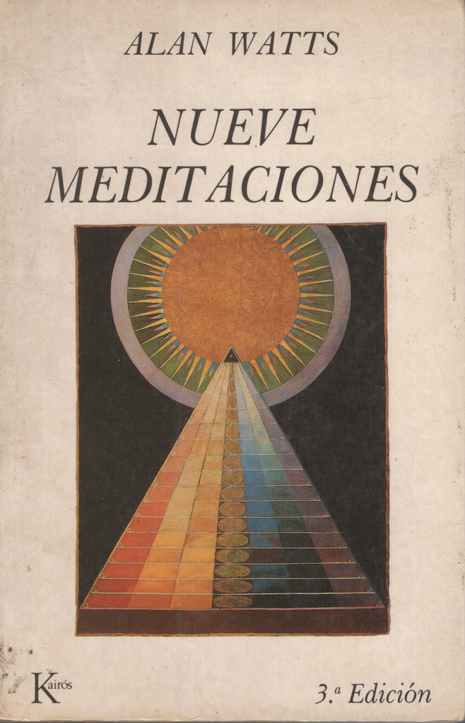 Nueve meditaciones by Alan Watts Spanish Edition