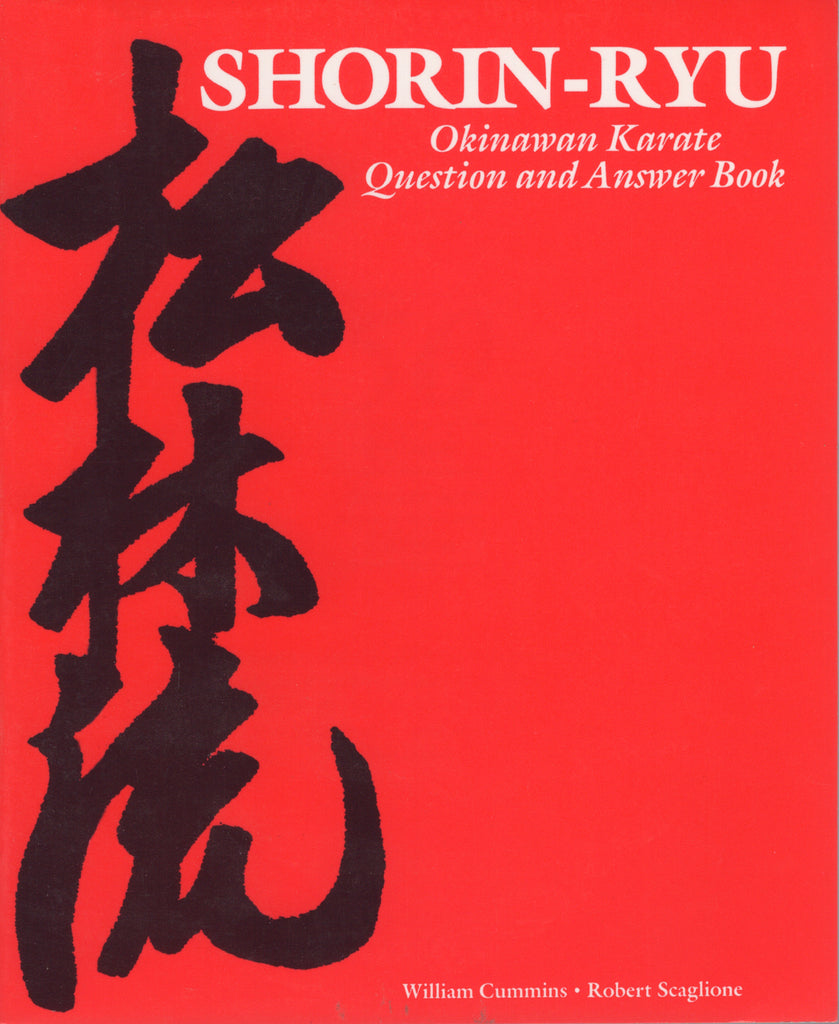 Shorin-Ryu Okinawan Karate Question and Answer Book by William Cummins Robert