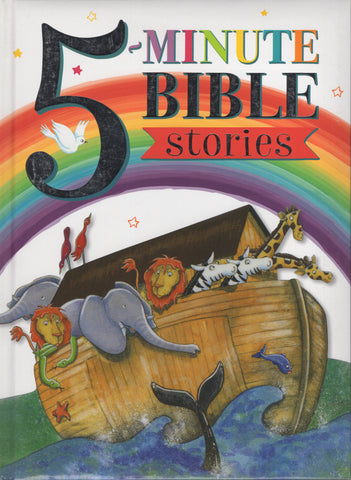 5 Minute Bible Stories Retold by Mary Batchelor and Penny Boshoff