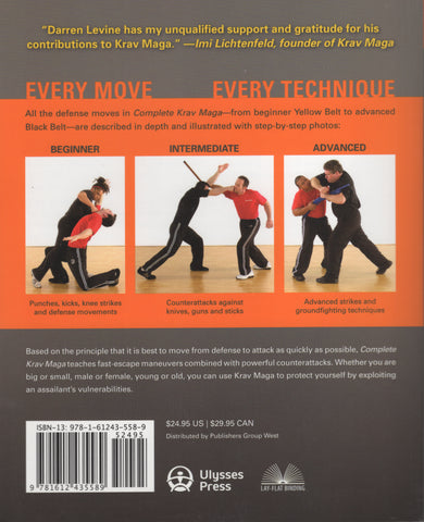 Complete Krav Maga by Darren Levine, John Whitman The Ultimate Guide to Over 250 Self-Defense and Combative Techniques