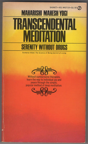 Transcendental Meditation serenity without drugs - Maharishi Mahesh Yogi