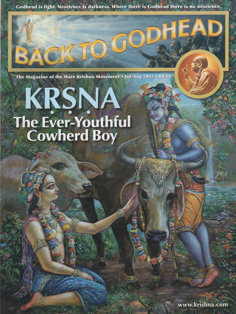 Back To Godhead Hare Krishna Magazine Krsna The Ever-Youthful Cowherd Boy 2013