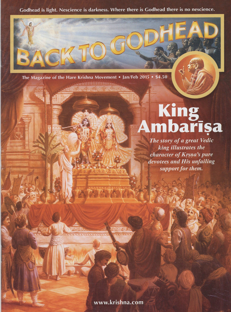 Back To Godhead Hare Krishna Magazine King Ambarisa Jan/Feb 2015