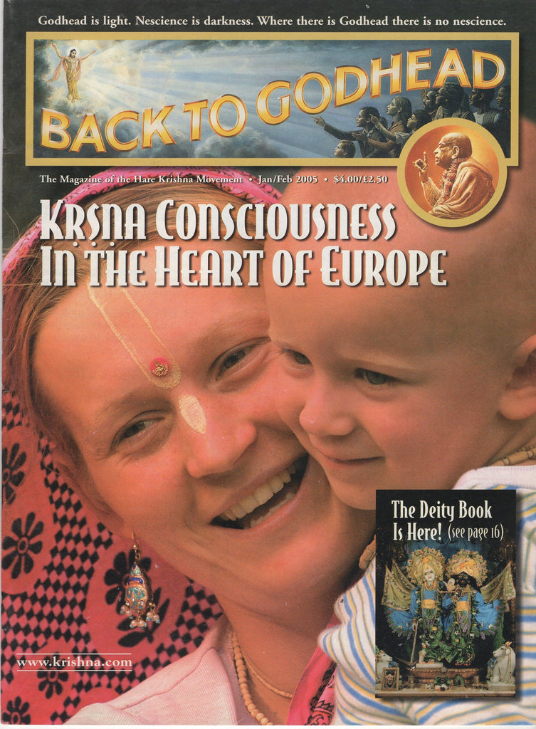Back To Godhead Hare Krishna Magazine Krsna Consciousness in The Heart of Europe