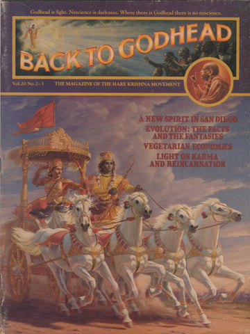 Back to Godhead Hare Krishna Magazine 1985 Vol.20 No. 2-3