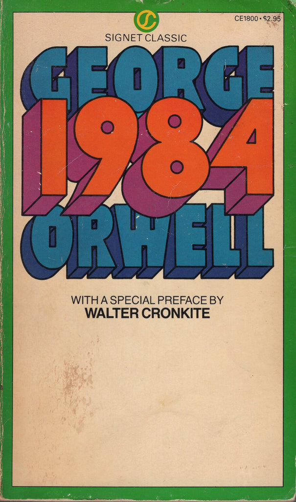 1984 by George Orwell Signet Classic, with Afterword by Erich Fromm