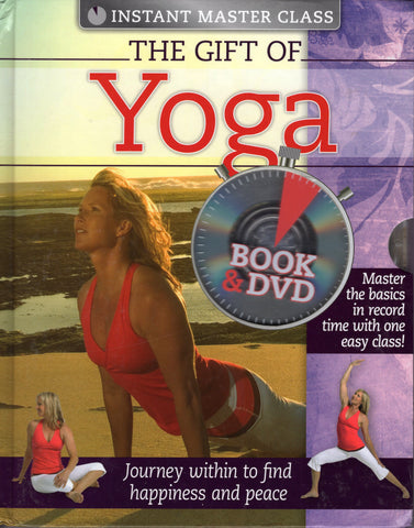 The Gift Of Yoga by Gena Kenny Book and DVD