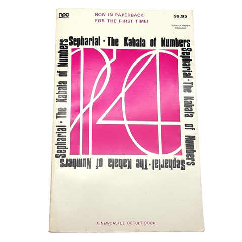 The Kabala of Numbers by A. Sepharial Newcastle Occult Book P-27 1974