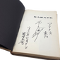 "Karate: The Art of ""empty hand"" fighting, Signed by author: Hidetaka Nishiyama"