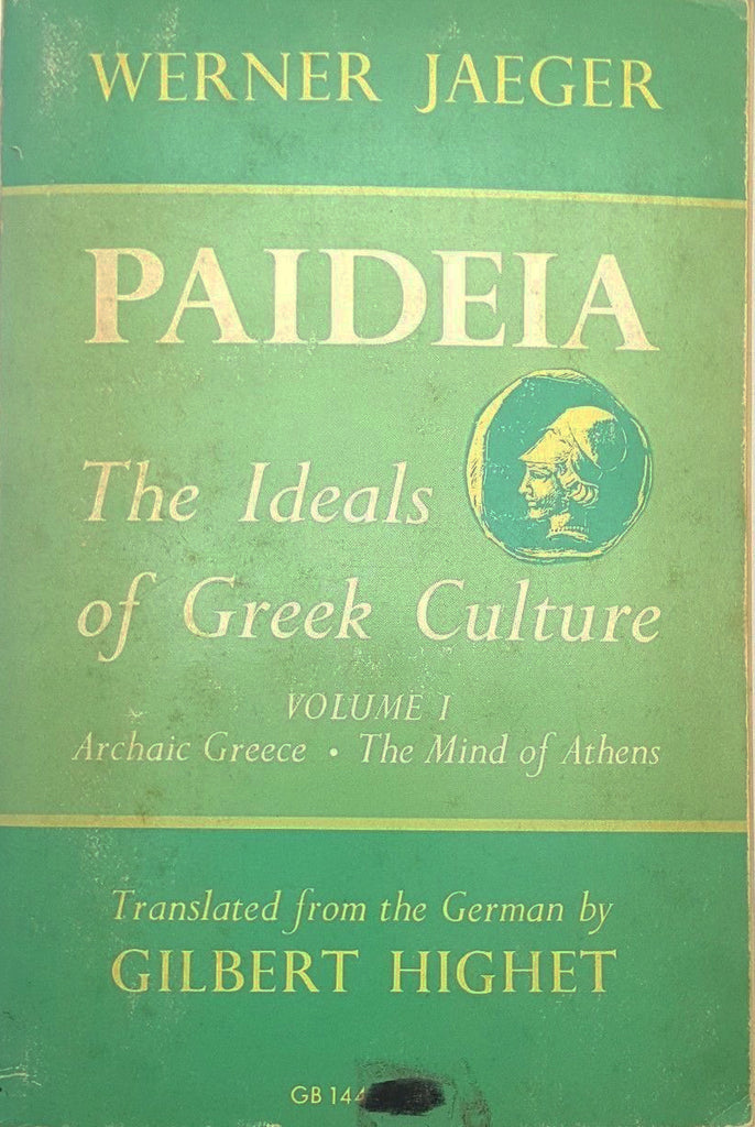Paideia : The Ideals of Greek Culture by Werner W. Jaeger Vol 1(1979, Paperback)