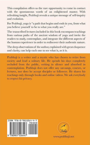 What Is, As It Is : Satsangs with Prabhuji (Paperback, English)
