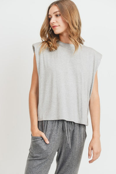 Shoulder Pad Muscle Tee