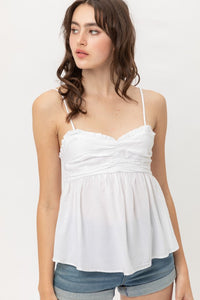 Kennedy Babydoll Top