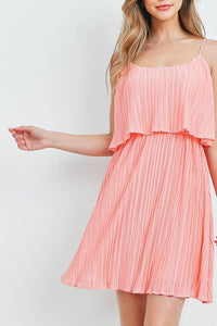 Pretty in Pleated Dress