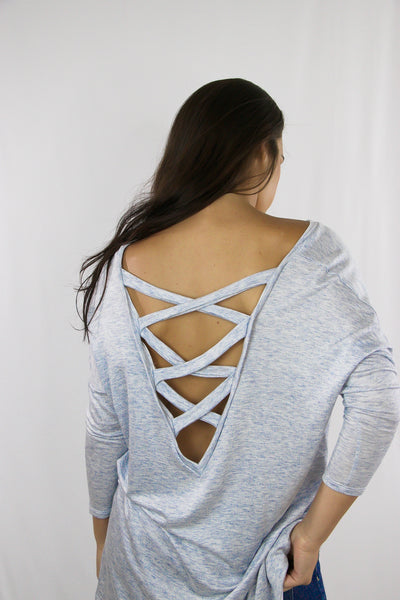 Amelia Open Back Top