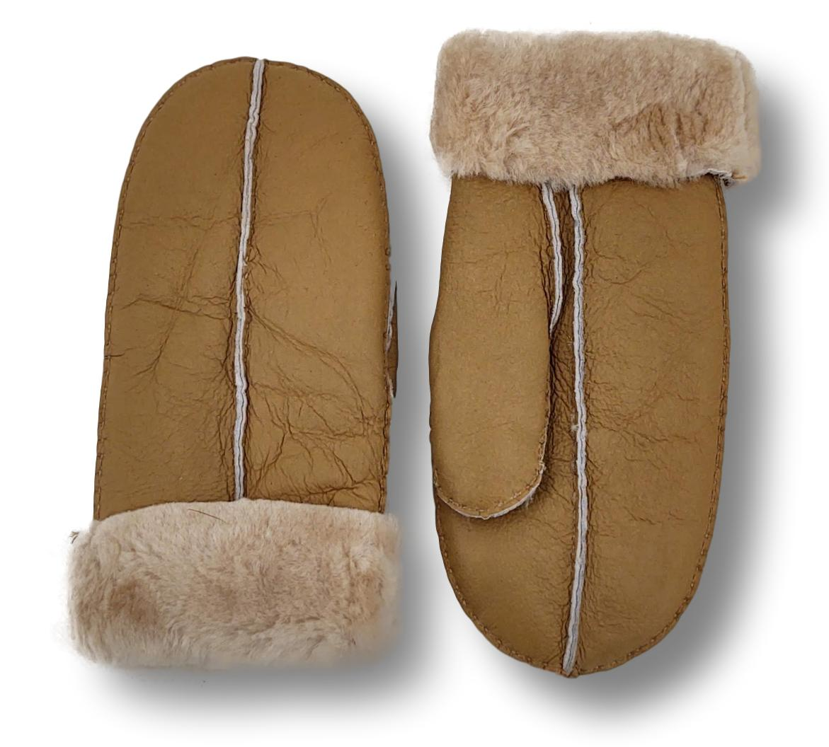 ZXM-159 - Suede Lamb / Ruskindsluffe - Accesories - Light Brown | STAMPE PELS