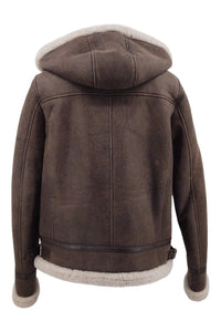 Adine, 60 cm. - Nappa Lamb Crack Washed -Women - Brown | STAMPE PELS