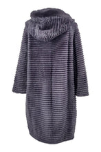 Load image into Gallery viewer, 19-125 Wool, 90 cm. - Rex - Women - Dark Grey | STAMPE PELS