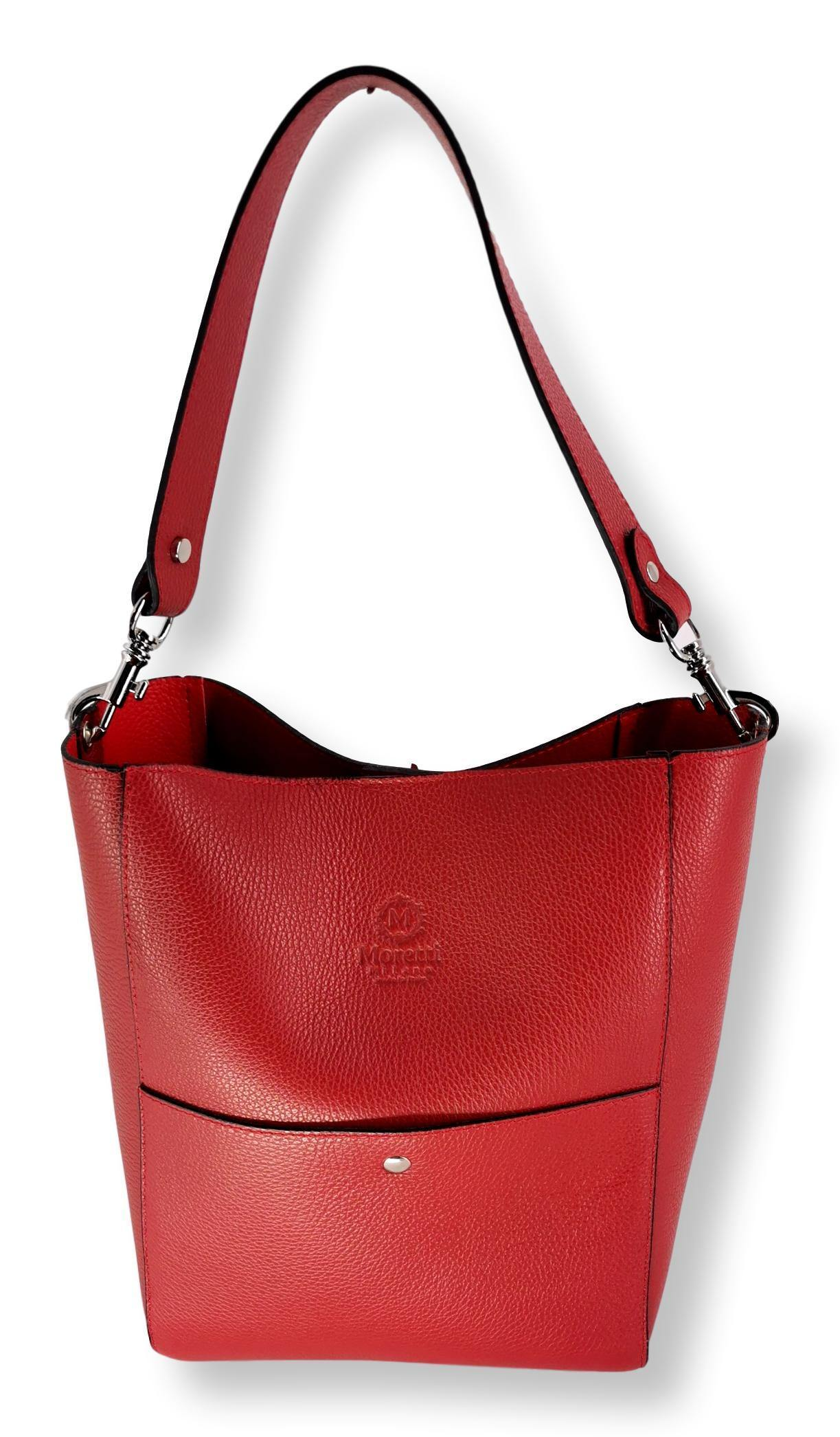 Moretti 14359 - Leather - Accesories - Red | STAMPE PELS