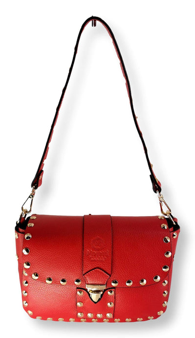 Moretti 14400 - Leather - Accesories - Red | STAMPE PELS