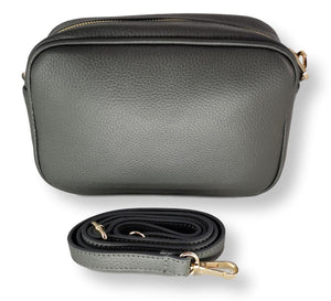 Moretti 14409 - Leather - Accesories - Grey | STAMPE PELS