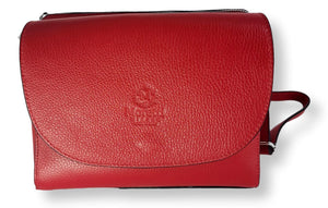 Moretti 14447 - Leather - Accesories - Red | STAMPE PELS