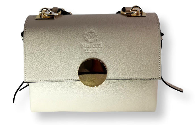 Moretti 14451 - Leather - Accesories - Beige | STAMPE PELS