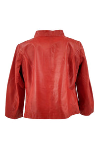 Baylee - Lamb Holywood Leather - Women - Red | STAMPE PELS