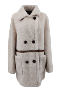 Cosy, 80 cm. - Collar - Air Wool - Women - Beige - Stampe Denmark
