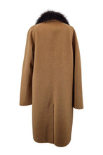 Load image into Gallery viewer, Capetown, 103 cm. - Collar - Double Face Wool - Man - Camel | STAMPE PELS