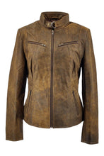 Load image into Gallery viewer, Merry - Lamb Tornado Leather - Women - Middle Brown | STAMPE PELS