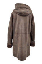 Load image into Gallery viewer, Rinaldi, 85 cm. - Nappa Lamb Crack Washed -Women - Brown | STAMPE PELS