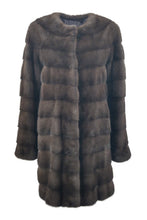 Load image into Gallery viewer, Seda, 85 cm. - Mink - Women - Warm Grey / Mink Pels - Levinsky - Kvinde | STAMPE PELS