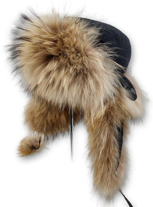 Hello Hat - Finn Racoon - Accesories - Nature (Hue) | STAMPE PELS