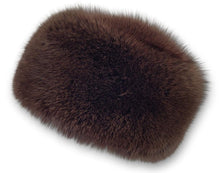 Load image into Gallery viewer, 759-85/03 Hat - Blue Fox - Accesories - Brown (Hue) | STAMPE PELS