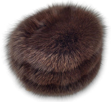 Load image into Gallery viewer, 755-85-03 Hat - Blue Fox - Accesories - Brown (Hue) | STAMPE PELS