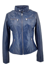 Load image into Gallery viewer, P 14-01 - Lamb Malli Leather - Women - Cobalt Blue | STAMPE PELS