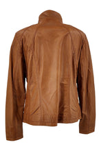 Load image into Gallery viewer, P 14-02 - Comfort - Lamb Glove Leather - Women - Cognac / Læder Skinds Jakke - Levinsky - Kvinde | STAMPE PELS