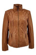 Load image into Gallery viewer, P 14-02 - Comfort - Lamb Glove Leather - Women - Cognac | STAMPE PELS