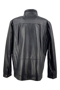 Bjorn - Nappa Leather - Man - Black / Læderjakke | STAMPE PELS